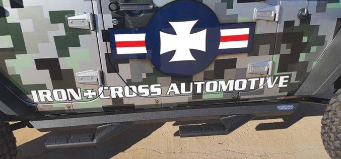 Iron Cross Automotive Sidearm Step