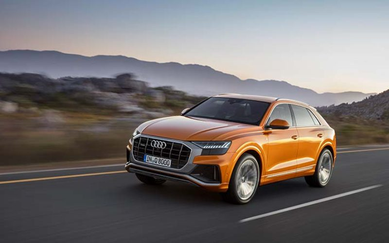 Audi Launches the All-New Coupe-Like Q8 SUV