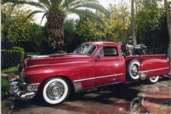 Cadillac Pickup Truck was Custom Bike Hauler