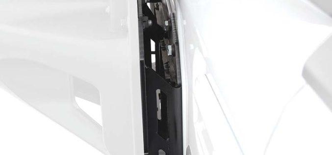 All-New Jeep Wrangler JL Tire Relocation Bracket from Smittybilt