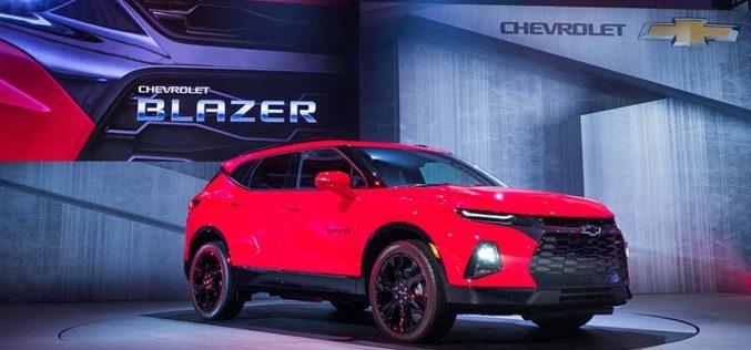 Chevrolet Introduces All-New 2019 Blazer SUV