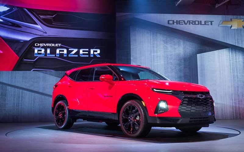 Chevrolet Introduces All-New 2019 Blazer SUV