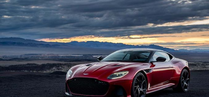 Aston Martin Reveals All-New DBS Superleggera Grand Tourer