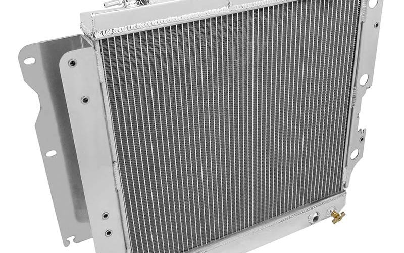 Frostbite Aluminum Three-Row Radiator for Jeep TJ