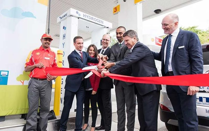 HTEC and Shell Open Canada's First Retail Hydrogen Refueling Station in Vancouver
