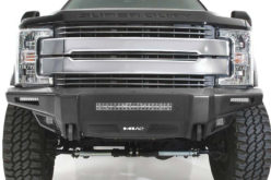 New M1A2 Heavy-Duty Modular Truck Bumper from Smittybilt