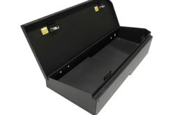 Tuffy Security Products Releases Silverado/Sierra Crew Cab Rear Seat Lockbox