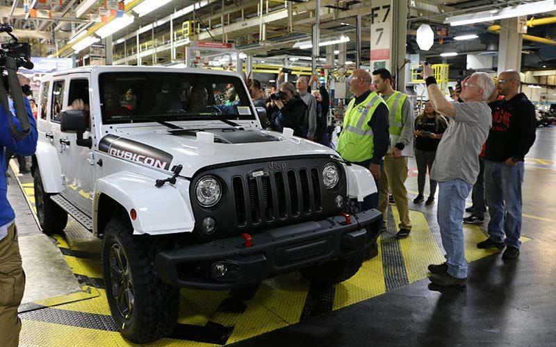 Ode to JK: Final Jeep Wrangler JK Rolls off the Assembly Line