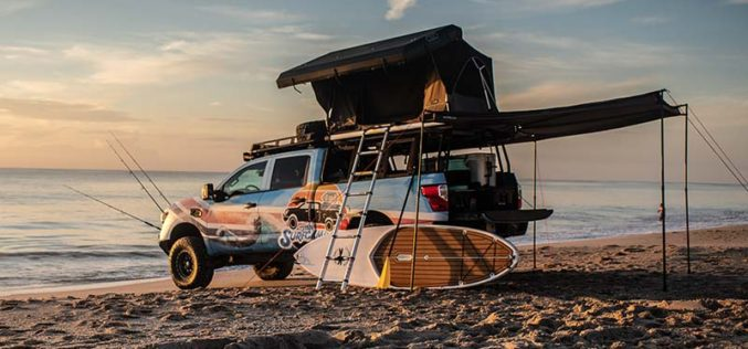 Nissan Unveils TITAN Surfcamp Project Vehicle
