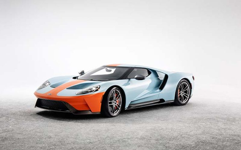 2019 Ford GT Heritage Edition Honours Legendary Motorsports Paint Scheme