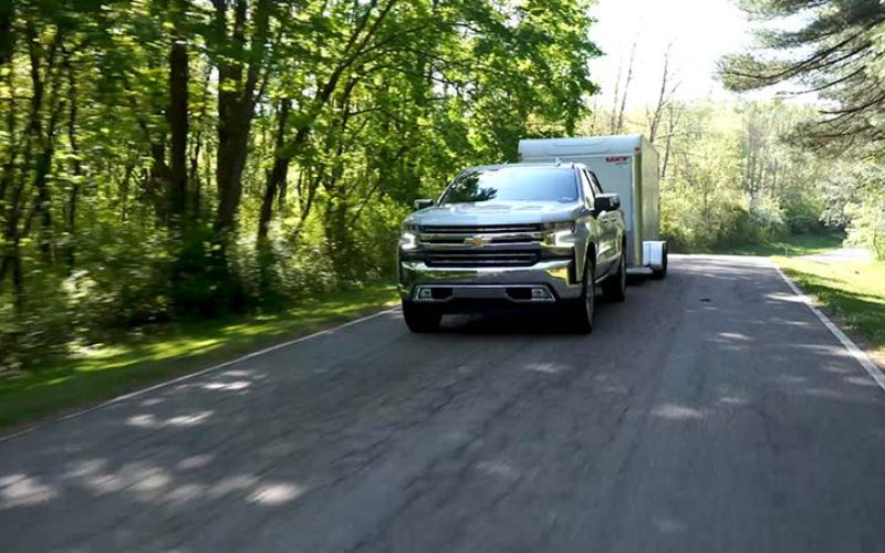 2019 Chevrolet Silverado 1500 to Introduce Several Levels of Towing Features