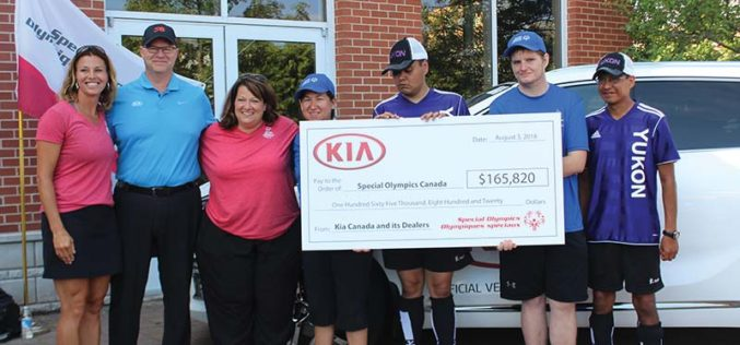 Kia Experiences Best-Ever July Sales Which Helps Raise $165,820 for Special Olympics Canada
