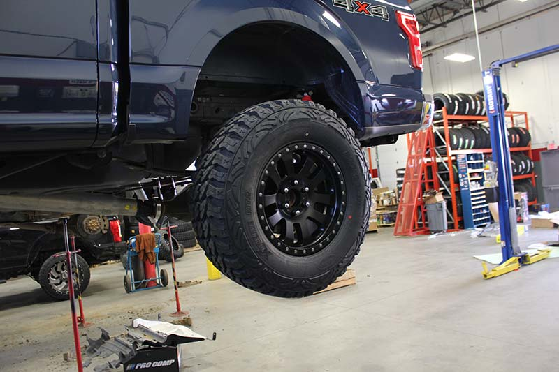 How Much Is A Wheel Alignment >> Tech: Pro Comp F-150 Install | Plus Automotive Network