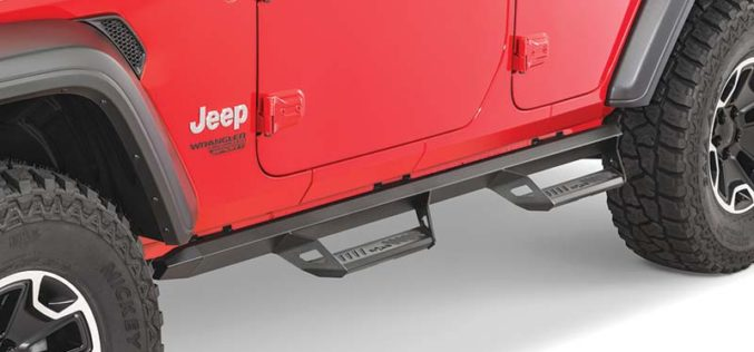 N-Fab Adds Jeep Wrangler JL Applications for Several Step Systems