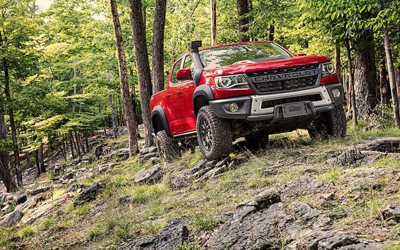Chevrolet Reveals the All-New Colorado ZR2 Bison