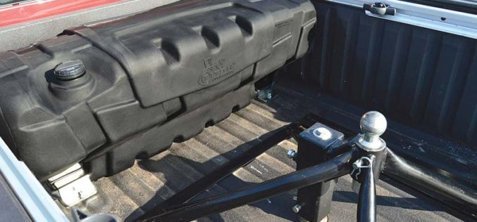 TITAN Fuel Tanks Travel Trekker 40 Auxiliary Fuel System