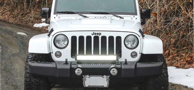 Bright Source Mounting Bracket Kit for Jeep