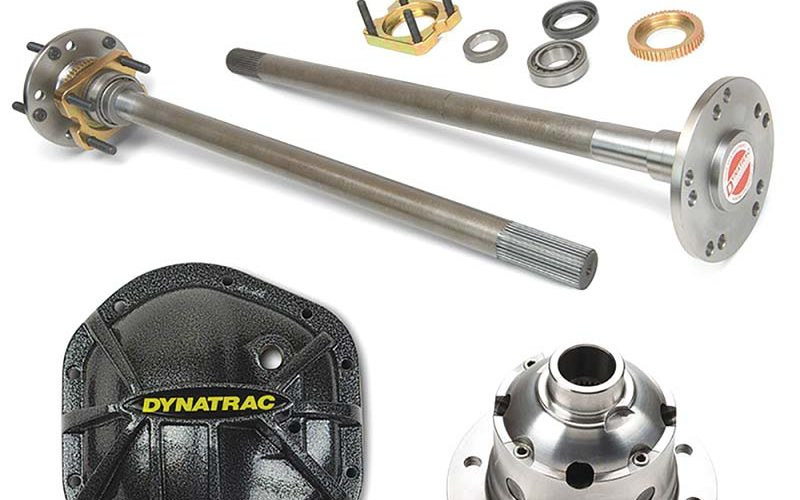 Dynatrac JK44 Rear Axleshaft Bundle Kit with 5-on-5 Bolt Pattern