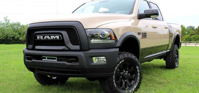 Ram Launches New Limited-Edition 2018 Power Wagon Mojave Sand Package