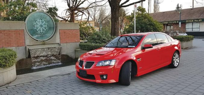 Pontiac G8 GXP – The 'dream car' experience