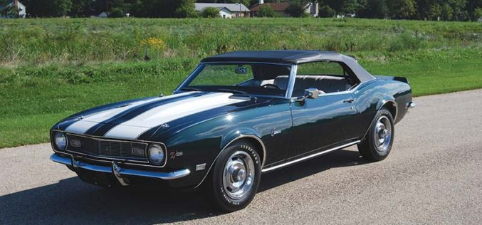 The one and only '68 Camaro Z/28 Convertible