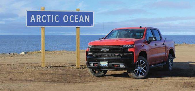2019 Chevy Silverado in the Arctic