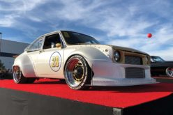Mini Muscle: Rod Nielsen's 1972 Mazda R100 was a big winner at the 2018 SEMA Show