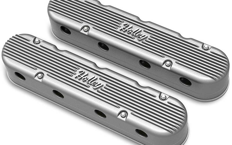 Holley's New Vintage Series Two-Piece LS Valve Covers