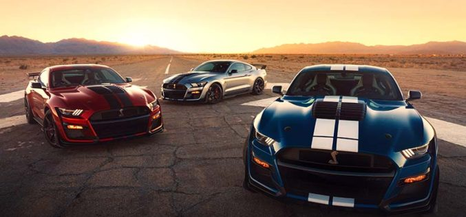 All-New 2020 Mustang Shelby GT500 Most Powerful Street-Legal Ford Ever