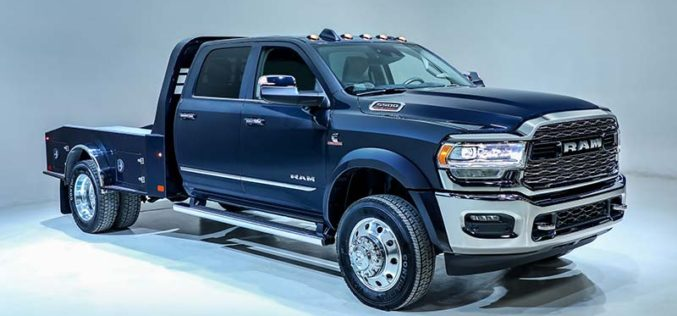 Ram Introduces All-New 2019 Ram Chassis Cab Work Trucks