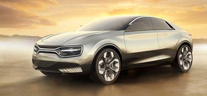 Kia Unveils All-Electric Concept Car in Geneva