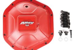 Alloy USA Boulder Red Aluminum Cover for Dana 44