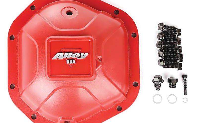 Alloy USA Boulder Red Aluminum Cover for Dana 44