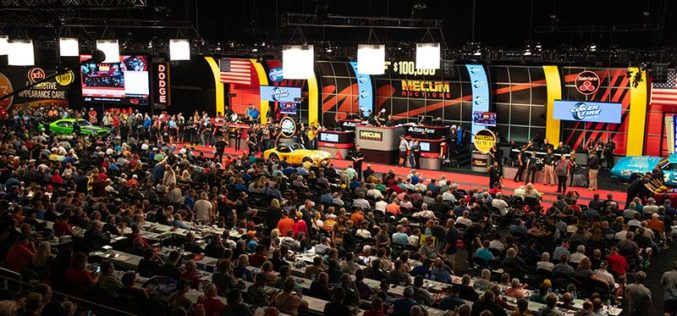Mecum Auctions Glendale 2020 at State Farm Stadium
