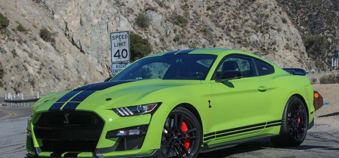 First Drive: 2020 Ford Mustang Shelby GT500
