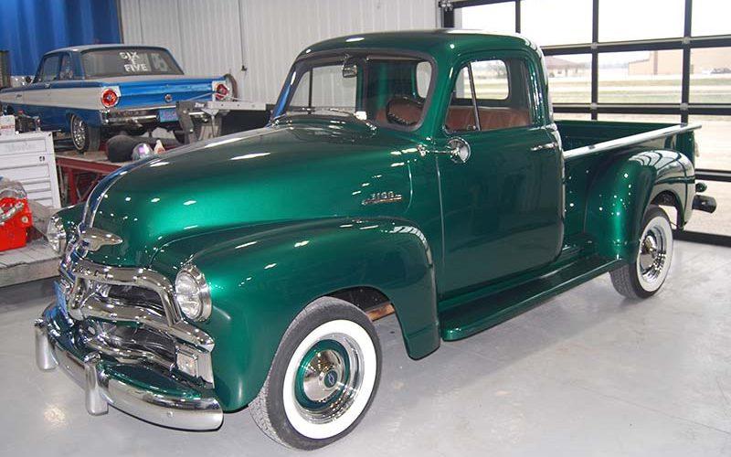 Overhauled Chevy half-ton hauler