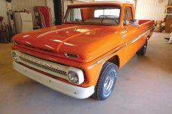 1965 Chevrolet C15 Fleetside gets diesel power