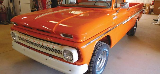 1965 Chevrolet C15 Fleetside gets diesel power